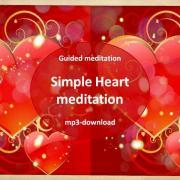 Free Heart medtation - simple heart meditation