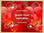 Simple Heart meditation