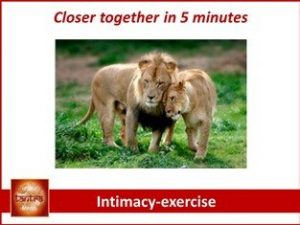 closer together in 5 minutes