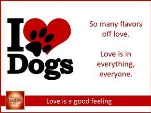Love is a good feeling