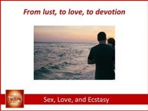 Sex, love, and ecstasy